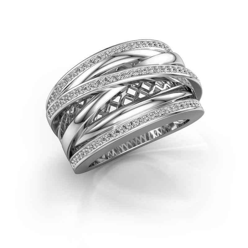 Ring Tabita 950 platina lab-grown diamant 0.405 crt