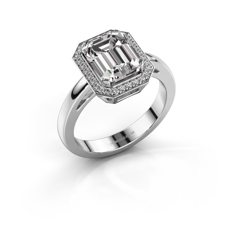 Engagement ring Dodie 1 950 platinum diamond 2.65 crt