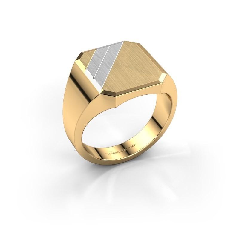 Zegelring Jack 2 585 goud