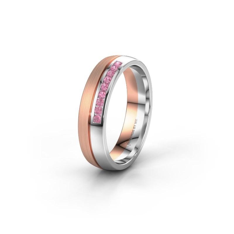Ehering WH0209L25APM 585 Roségold Pink Saphir ±5x1.7 mm
