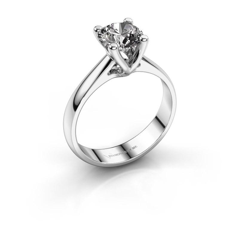 Engagement ring Janna 1 925 silver diamond 1.00 crt