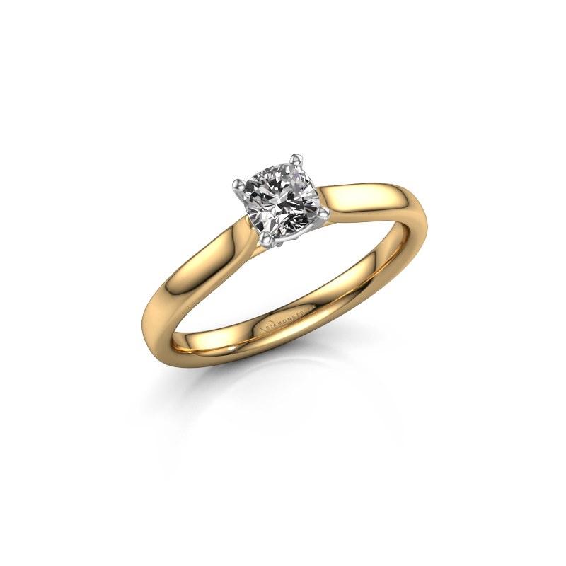 Verlovingsring Mignon cus 1 585 goud diamant 0.50 crt