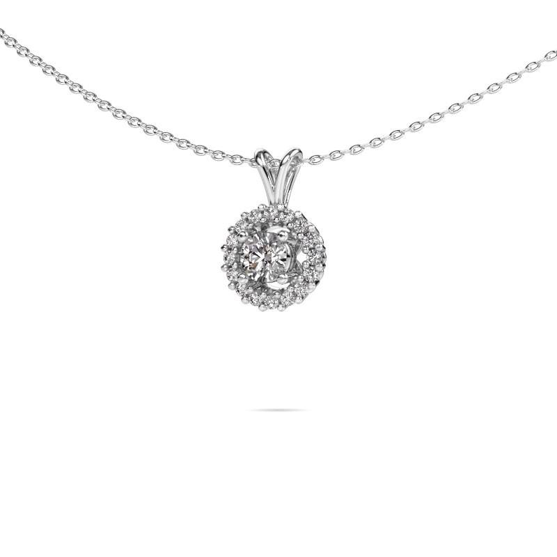 Pendant Tennille 925 silver diamond 0.37 crt
