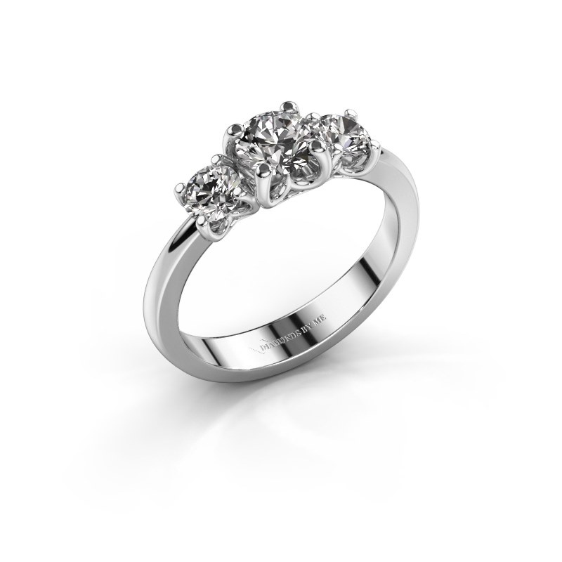 Verlobungsring Detra 925 Silber Diamant 1.00 crt