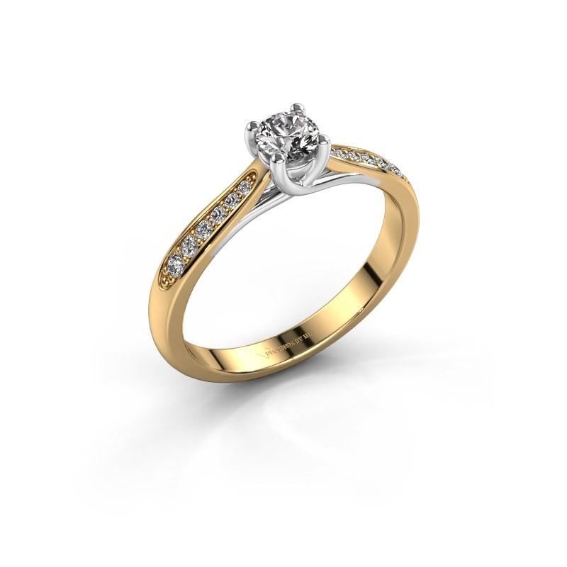 Engagement ring Mia 2 585 gold diamond 0.30 crt