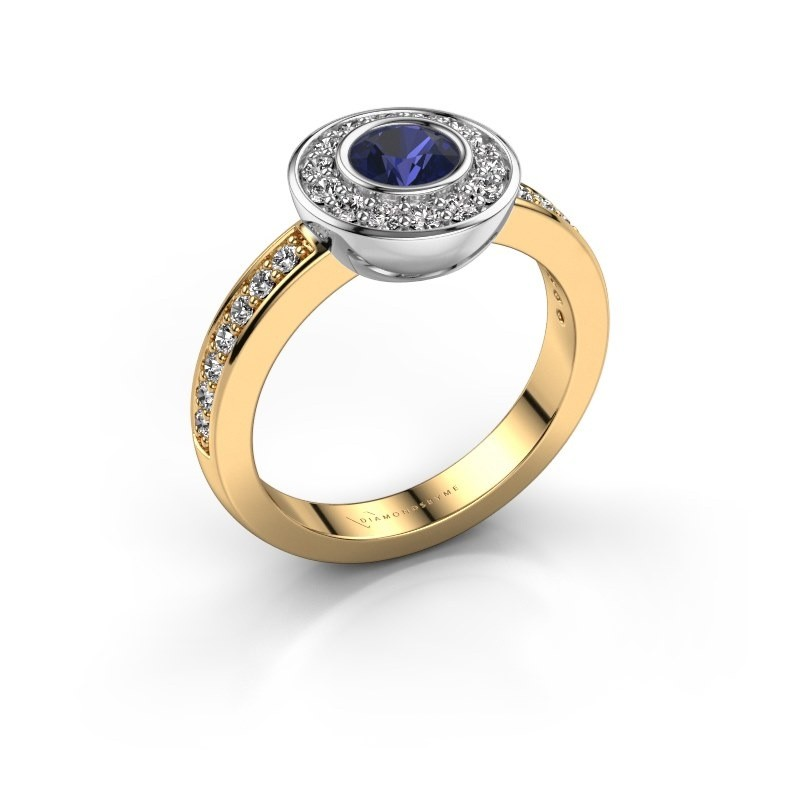 Ring Ivy 585 gold sapphire 5 mm