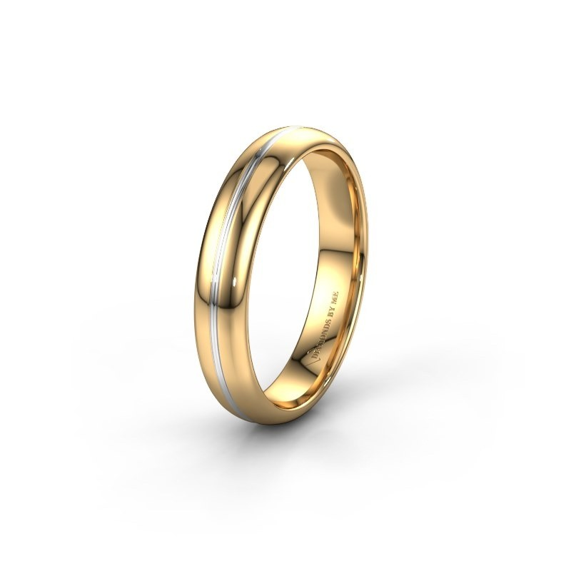 Wedding ring WH2142M34A 585 gold ±4x1.7 mm