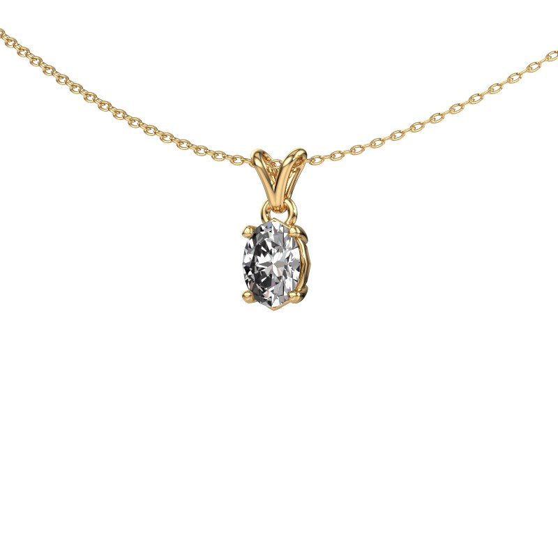 Ketting Lucy 1 585 goud lab-grown diamant 0.70 crt