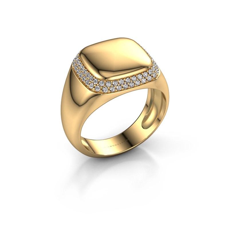 Heren ring Pascal 585 goud lab-grown diamant 0.482 crt