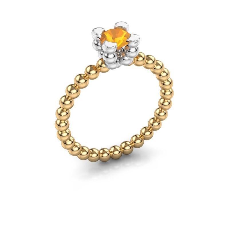 Ring Aurore 585 goud citrien 5 mm