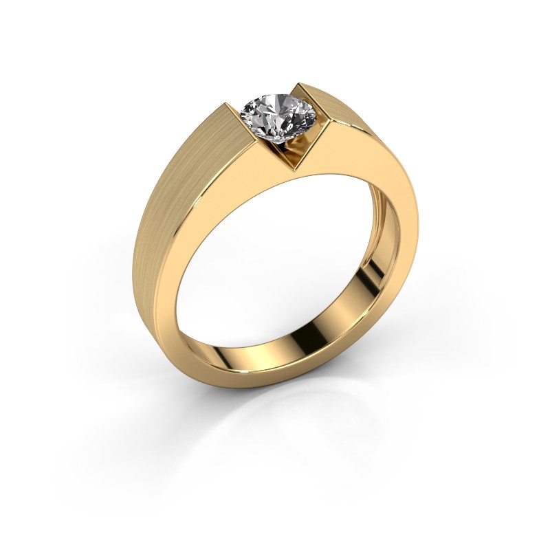 Verlovingsring Lizzy 1 585 goud diamant 0.40 crt