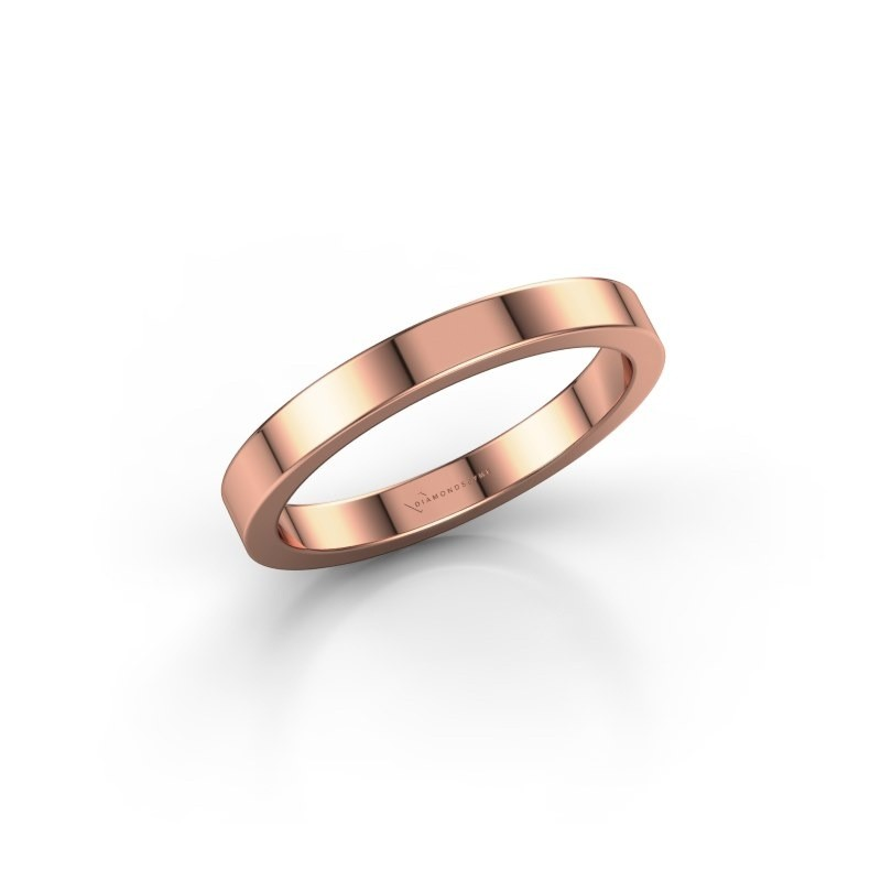 Stackable ring SRH0030B304 375 rose gold