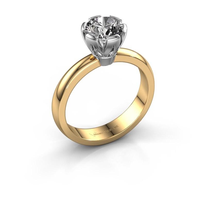Verlovingsring Julia 585 goud diamant 1.00 crt