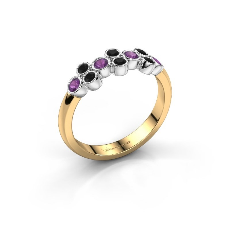 Ring Kayleigh 585 Gold Amethyst 2.4 mm