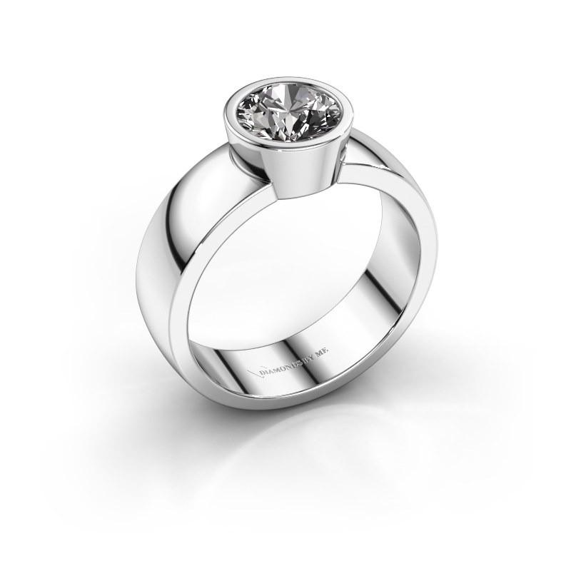 Ring Ise 1 950 platina diamant 1.00 crt