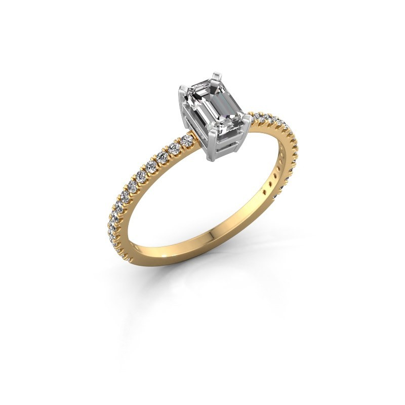 Verlovingsring Denita 2 585 goud diamant 0.70 crt