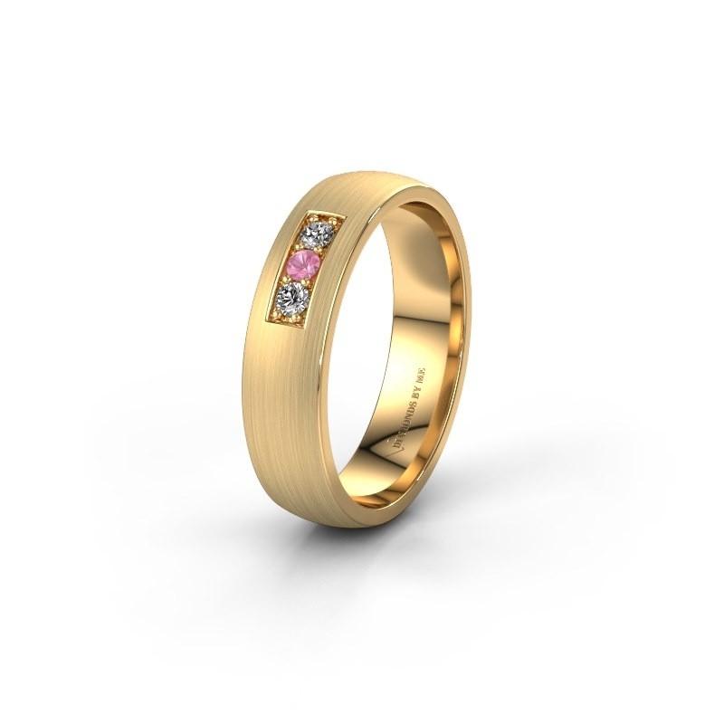 Ehering WH0110L25AM 585 Gold Pink Saphir ±5x1.7 mm
