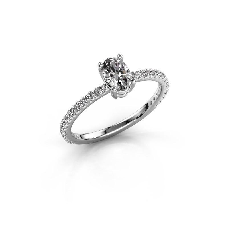 Verlovingsring Lynelle 2 925 zilver lab-grown diamant 0.50 crt