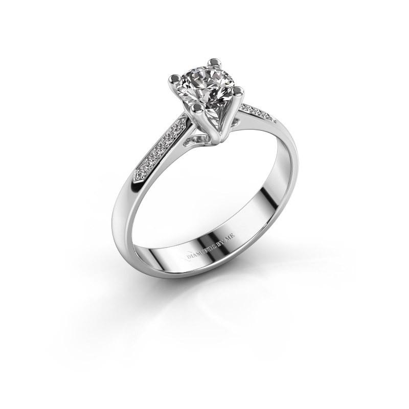 Promise ring Janna 2 925 silver diamond 0.50 crt