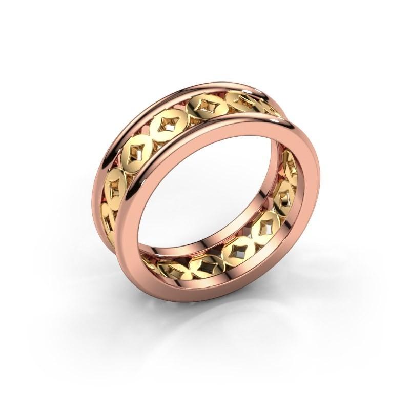 Ring Aya 585 rosé goud