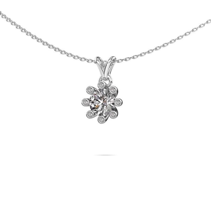 Hanger Carola 3 950 platina lab-grown diamant 0.80 crt