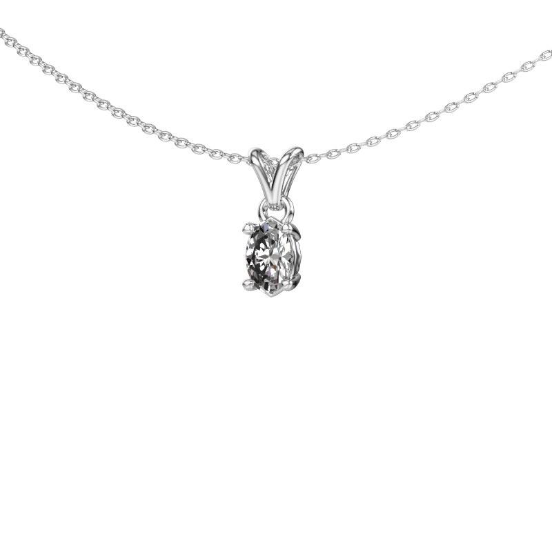 Ketting Lucy 1 950 platina diamant 0.50 crt