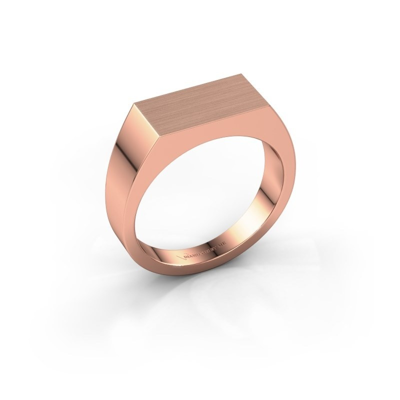Men's ring Jacob 375 rose gold