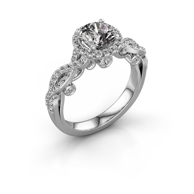 Verlobungsring Madeleine 950 Platin Diamant 1.485 crt
