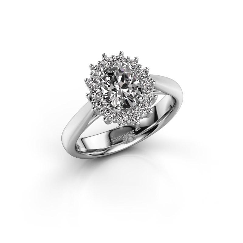 Verlobungsring Margien 1 585 Weißgold Lab-grown Diamant 0.80 crt