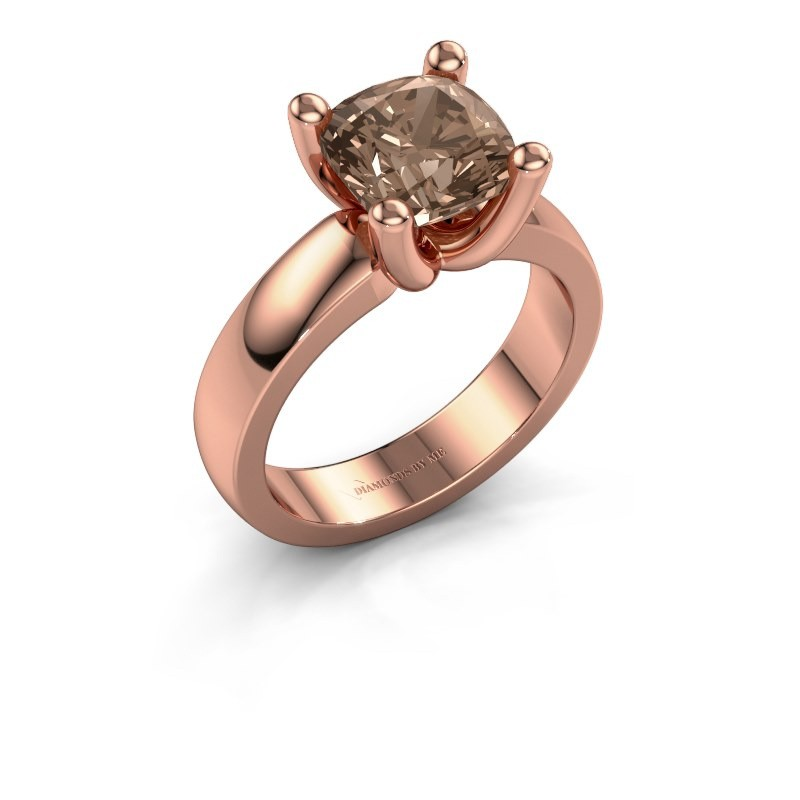 Ring Clelia CUS 585 rose gold brown diamond 3.00 crt