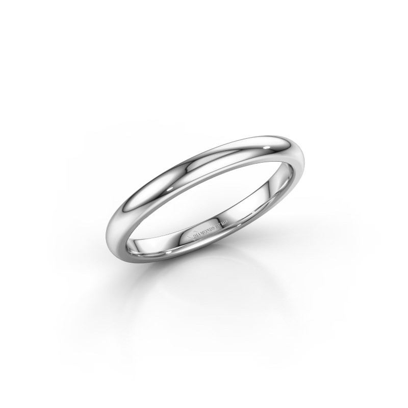 Stackable ring SR30B6 585 white gold