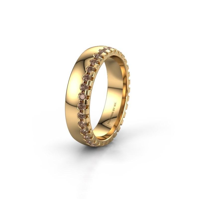 Ehering WH6122L25B 375 Gold Braun Diamant ±5x2 mm