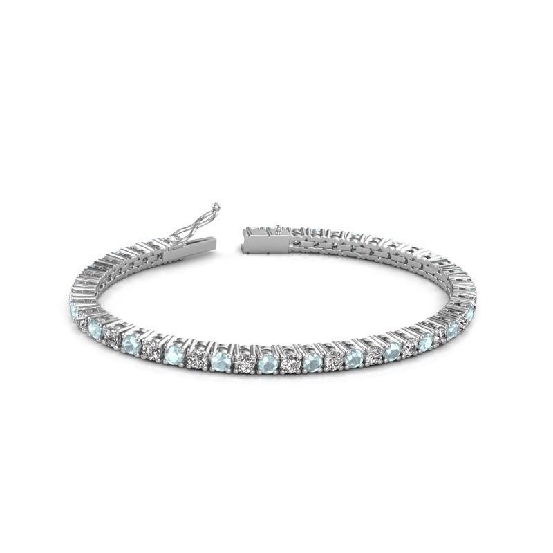 Tennisarmband Jenny 585 witgoud lab-grown diamant 4.32 crt