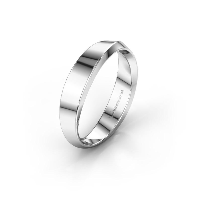 Wedding ring WH2222L14B 375 white gold ±4x2 mm