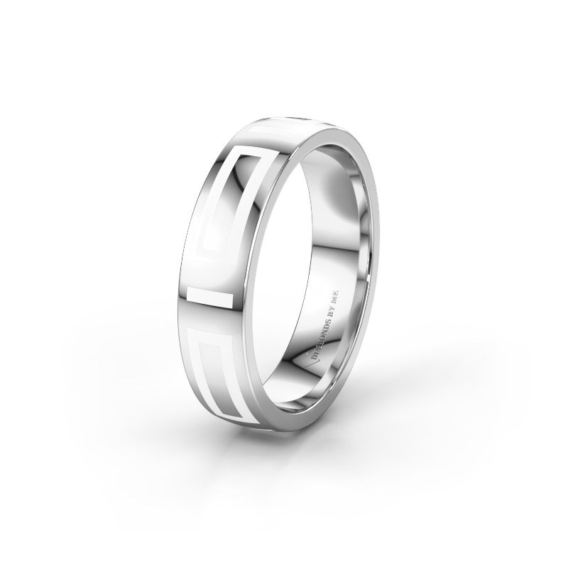 Wedding ring WH2228M25A 925 silver ±5x1.7 mm