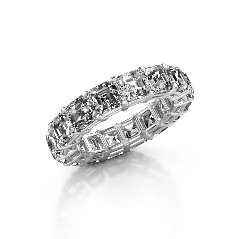 Ring Heddy ASH 4.5 585 witgoud diamant 8.00 crt