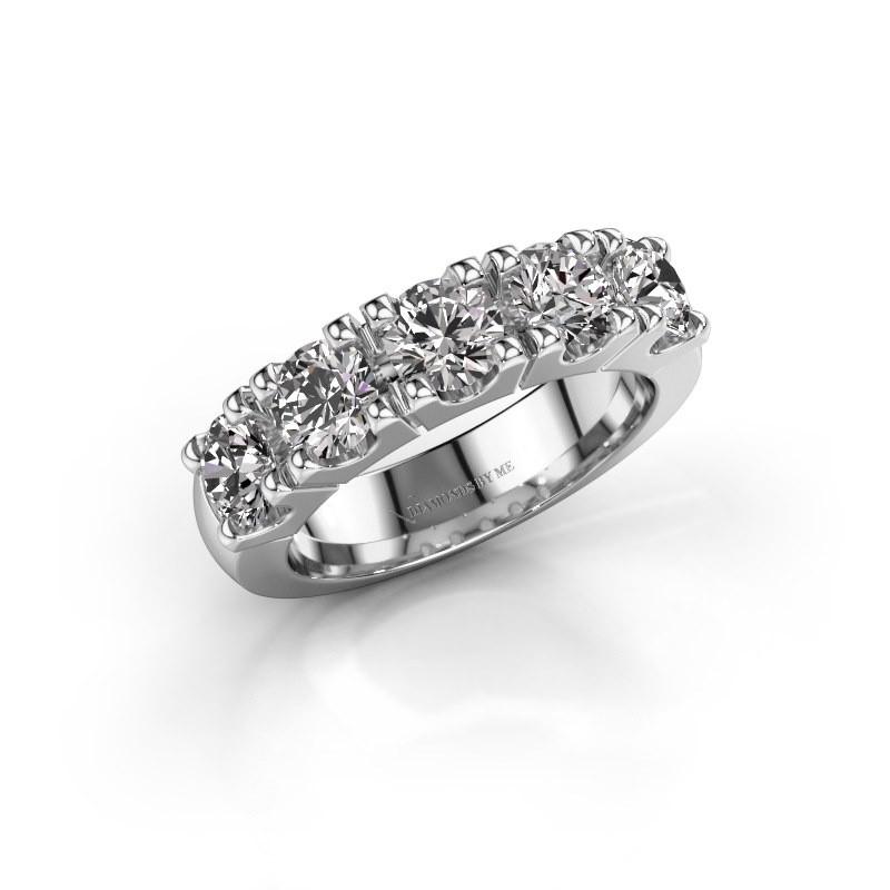 Engagement ring Rianne 5 585 white gold diamond 2.00 crt