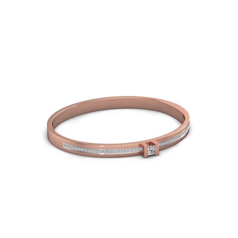 Armband Desire 585 rosé goud diamant 0.79 crt