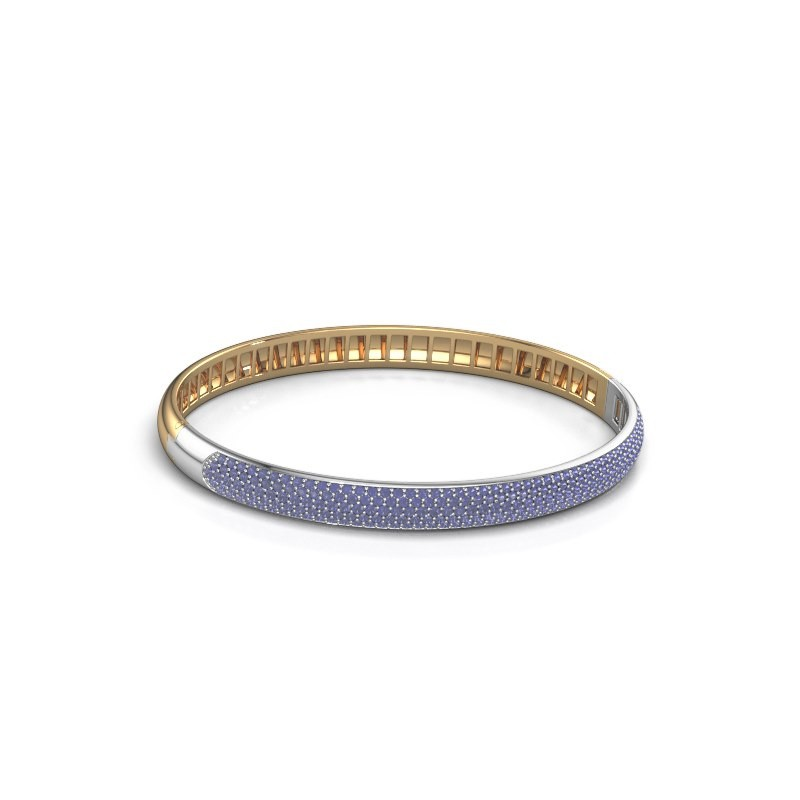 Armband Emely 6mm 585 goud saffier 1.2 mm