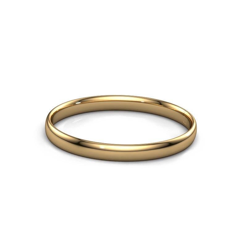 Slavenarmband Jane 7mm 585 goud