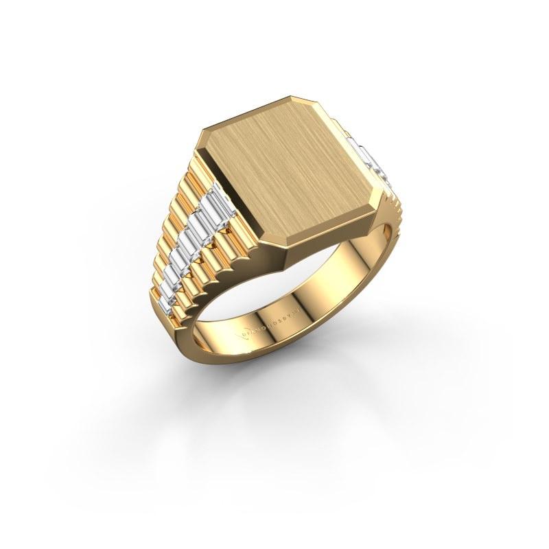Siegelring Erik 2 585 Gold