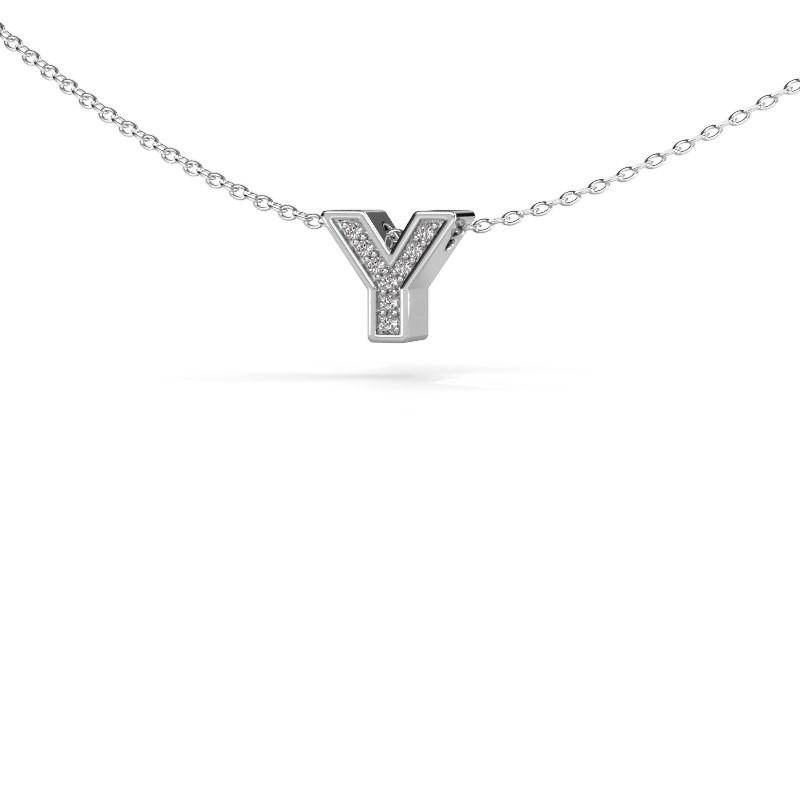 Letter hanger Initial 140 925 zilver