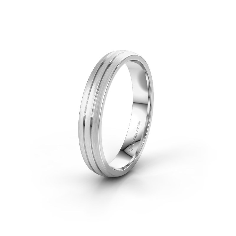 Wedding ring WH0400M24AM 925 silver ±4x1.7 mm