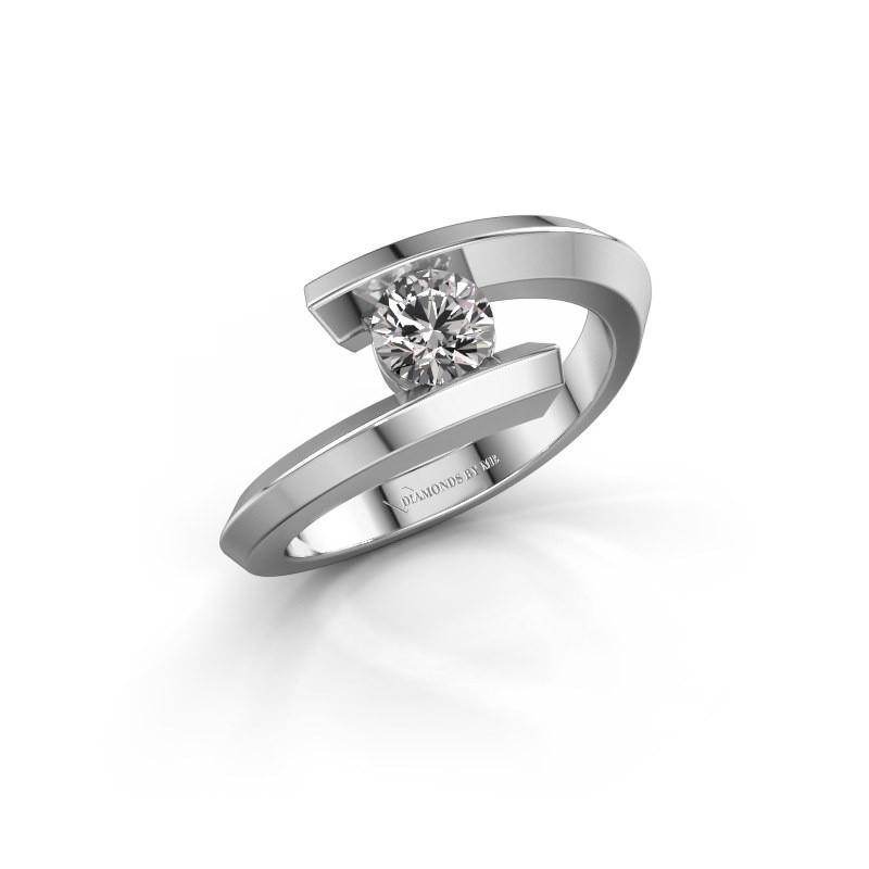 Ring Paulette 925 silver diamond 0.30 crt