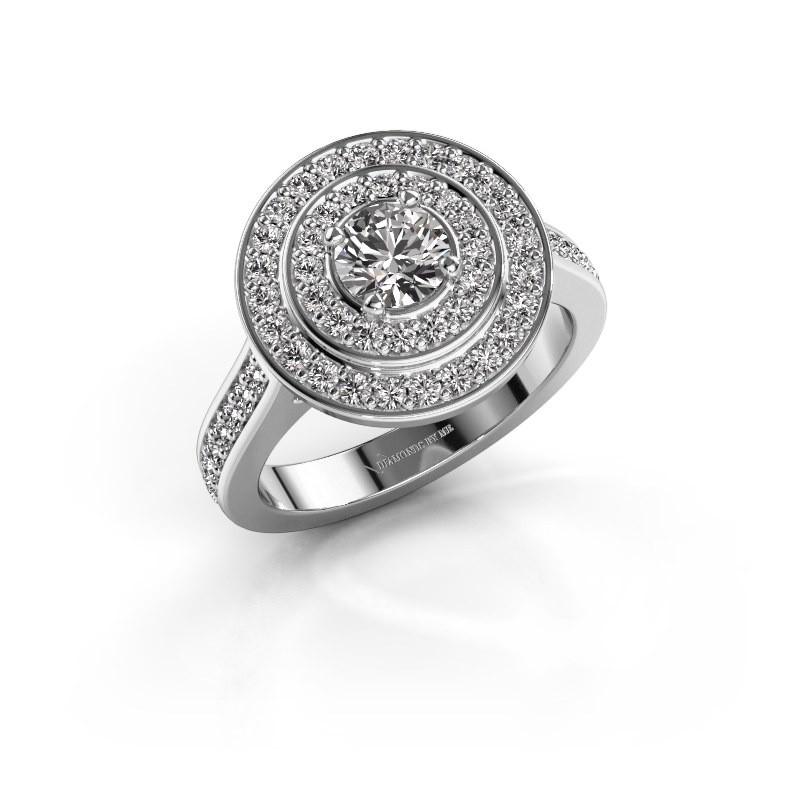 Ring Alecia 2 925 zilver zirkonia 5 mm