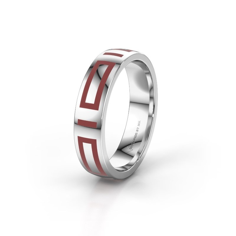 Wedding ring WH2228M25A 950 platinum ±5x1.7 mm