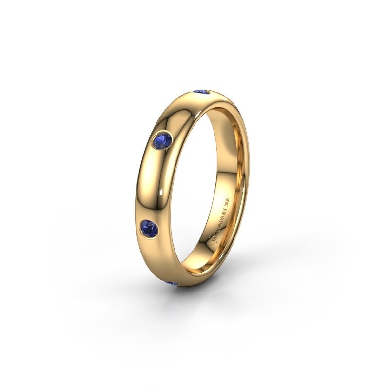 Ehering WH0105L34BP 375 Gold Saphir ±4x2 mm