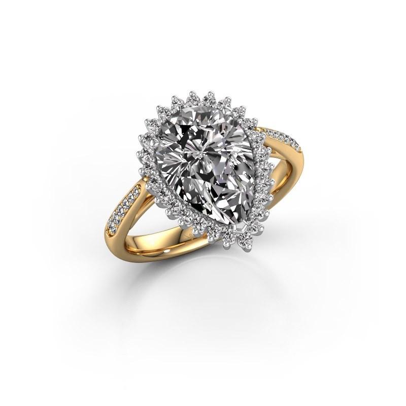 Verlovingsring Chere 2 585 goud diamant 3.00 crt
