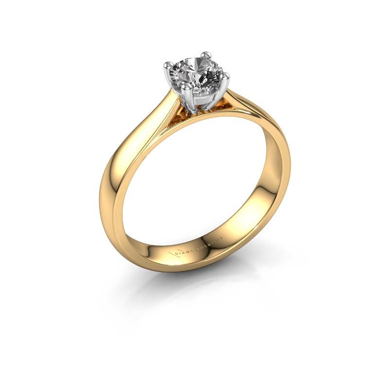 Verlobungsring Sam 585 Gold Diamant 0.50 crt