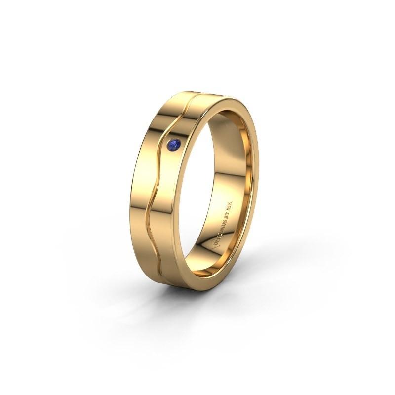 Ehering WH0701L15AP 585 Gold Saphir ±5x1.7 mm